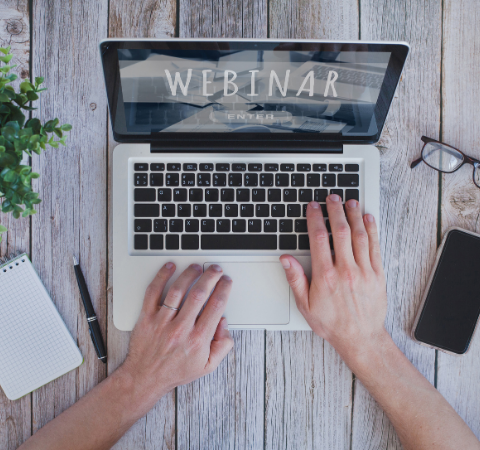 Click here to register for our upcoming live webinars or on-demand webcasts